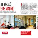 Bedding 32.Hotel Barceló Torre de Madrid